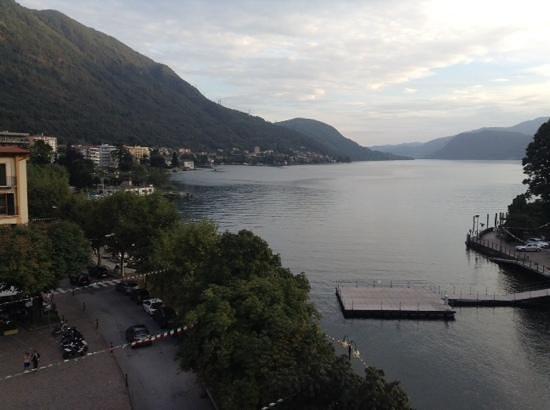 Hotel Ristorante Croce Bianca: Uitzicht op het meer.
