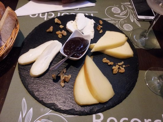 Recorcho Gastrobar : Tabla de quesos