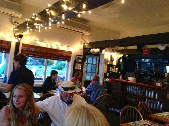 The Barnacle: Inside the restaurant