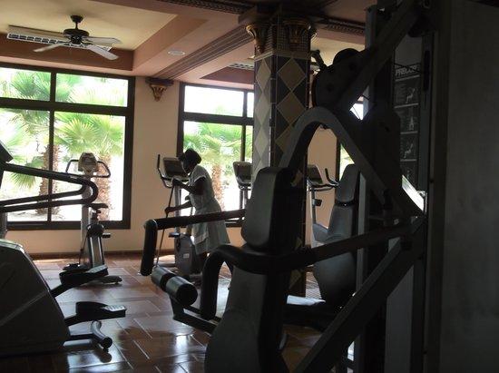 Hotel Riu Karamboa: Gym