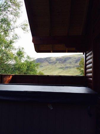 Glen Clova Hotel: View from the decking