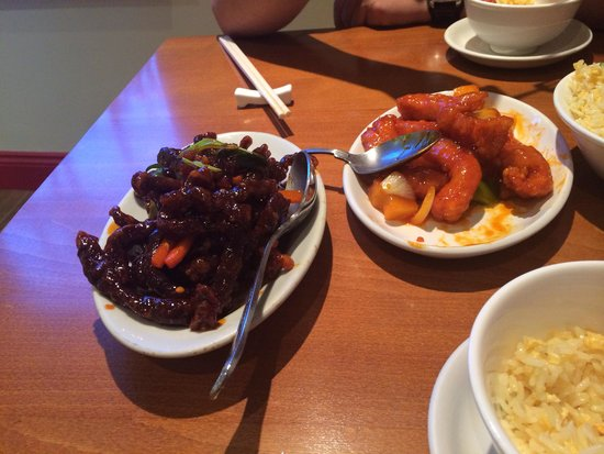 Theale, UK: Main course