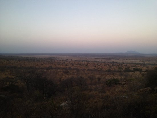 Boundary Hill Lodge: the view from our room