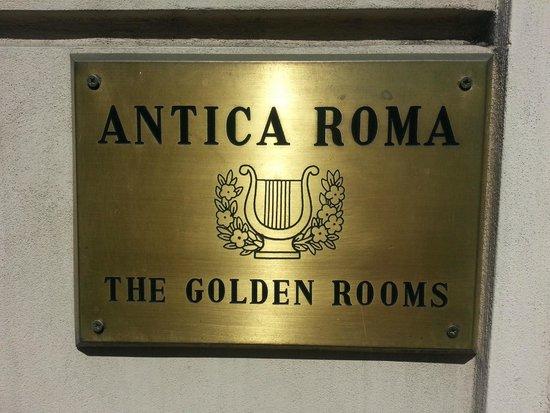 Residenza Antica Roma: Best Hotel in Roma!