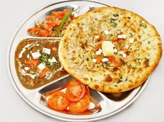 North Indian Dish Malai Kofte Pesavaari Naan Bread Mmmmmm Mm