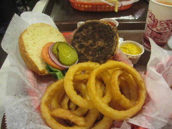 "Wall Drug Store Cafe: ""Signature"" buffalo burger."