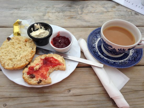 Yvonne's Cottage: Tea & Scone