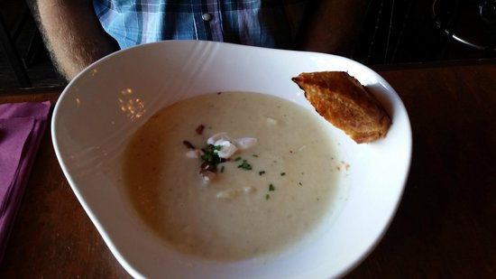 Potato soup was very good! Commodore  |  369 Victoria Street, Kamloops, British Columbia, Canada