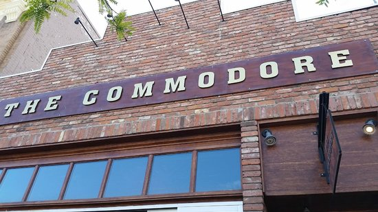 Out door signage, Commodore  |  369 Victoria Street, Kamloops, British Columbia, Canada
