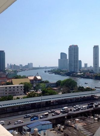 Centre Point Silom: the view from our room