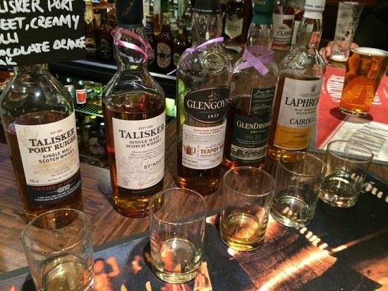 The Keys Bar: They have over 100 different whiskeys