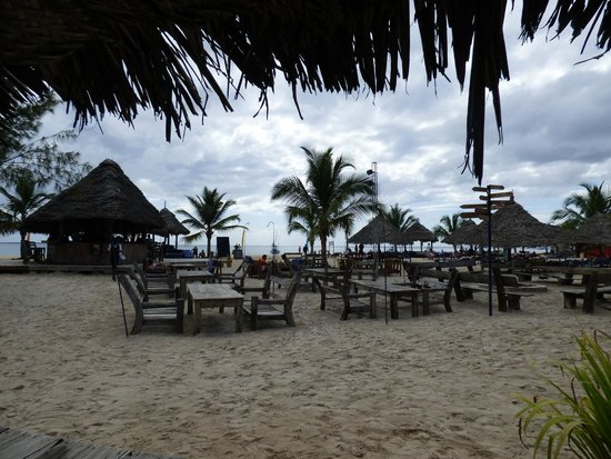 Kendwa Rocks Beach Hotel : Resturant view