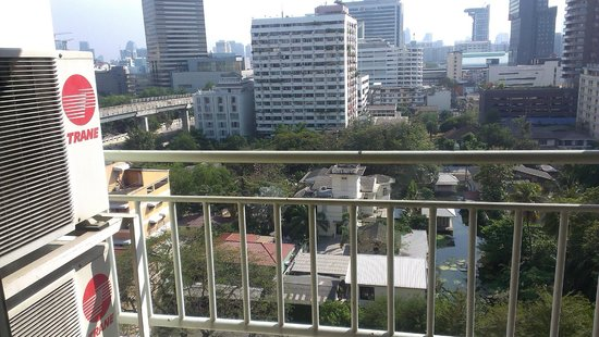 Evergreen Place Bangkok: View from the balcony
