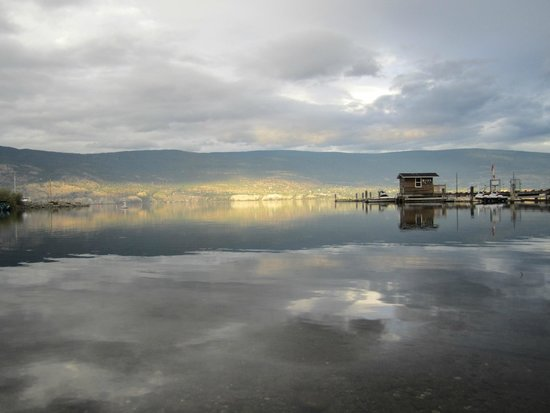 Summerland Waterfront Resort & Spa : The view from the beach