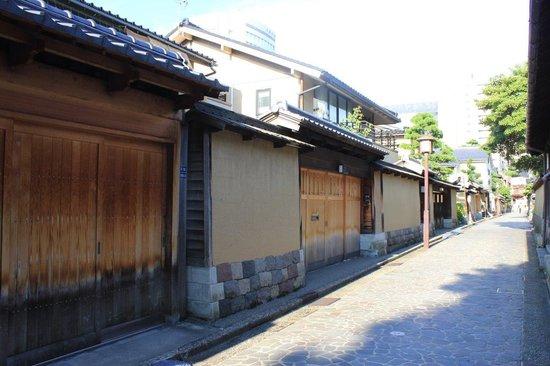 Nagamachi District : fachada calle