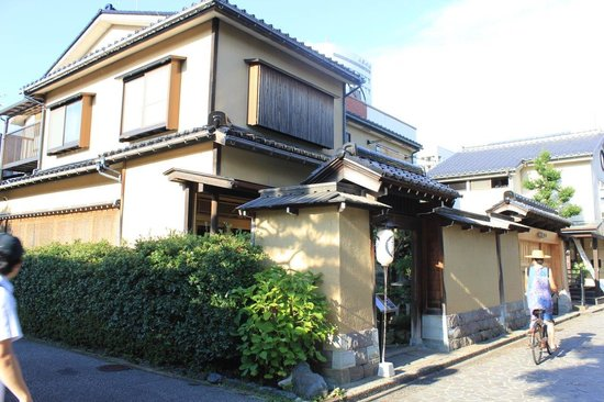 Nagamachi District : vivienda tipica