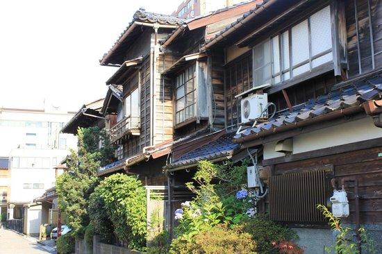 Nagamachi District : casas tipicas