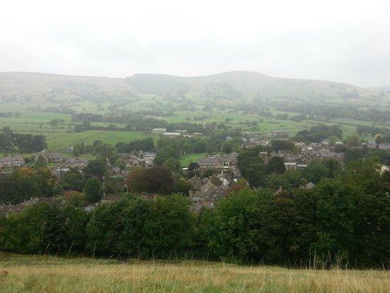 Peveril Castle: The view