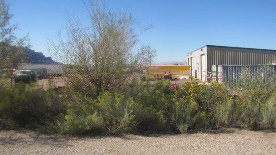 Morris' Last Resort: View from front door of Cabin 6