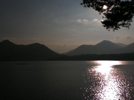 Derwentwater : Beautiful end to a perfect day