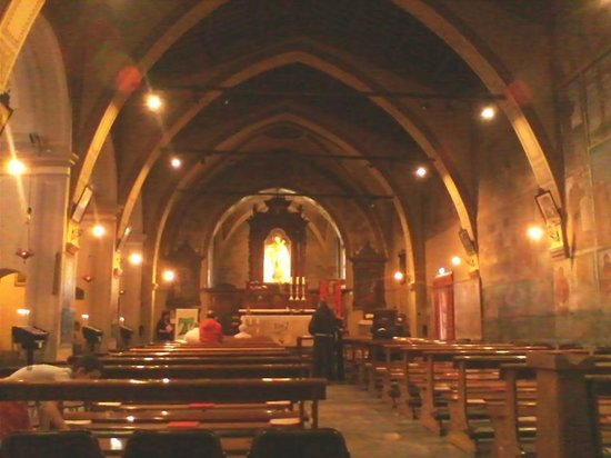 Merate, Italy: interno del monastero