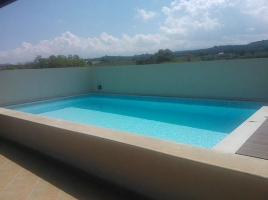 Asterion Hotel Suites and Spa: piscina privata executive suite