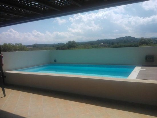 Asterion Hotel Suites and Spa : piscina privata sull'attico