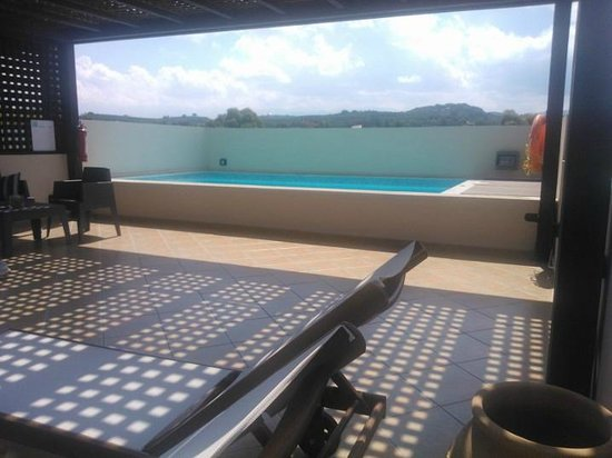Asterion Hotel Suites and Spa : piscina privata executive suite