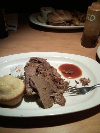 Mr Pig Stuff : BBQ beef brisket