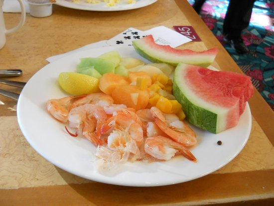 Hilton Grand Vacations at the Flamingo: 朝の食事2