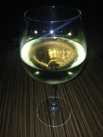 Sultan Ahmet Restaurant : Goblet of sweet white wine - approx £2.50