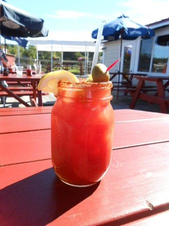 Robinson's Wharf: Best Bloody Mary ever, at Robinson's!