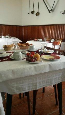 Mar Blau Tossa Hotel : café organizado