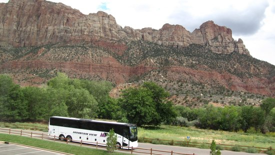 Hampton Inn & Suites Springdale Zion National Park: View from our room