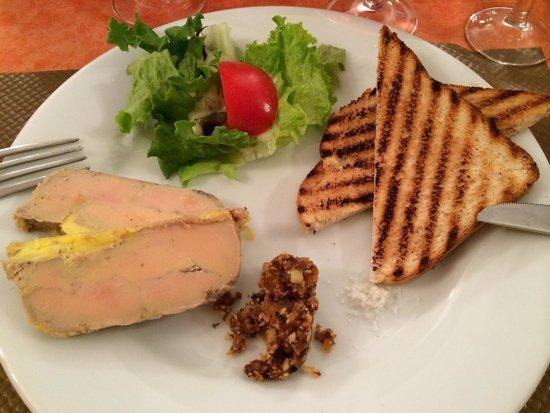 Le Relais du Grepissot : Le foie gras maison