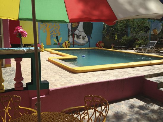 hostal familiar san jorge: The pool