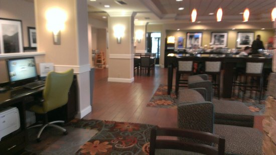 Hampton Inn Princeton: Breakfast area