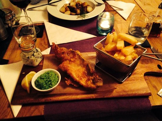 Celandines: Fish and chips