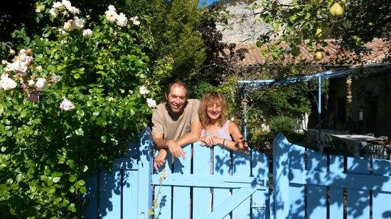 Le Chanelou : hosts Agnes and Bernard