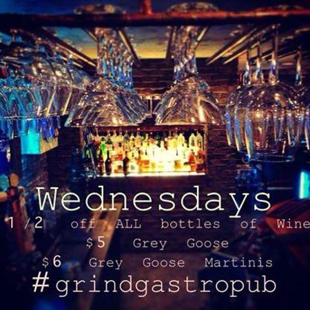 Grind Gastropub : Wednesday Night Special