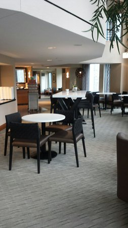 Sheraton Grand Chicago: Sheraton lounge on 33rd floor