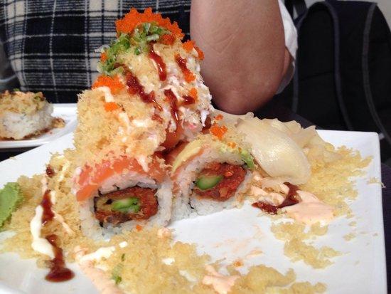 Zen Bistro - Millbrae: Volcano sushi!