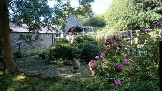 The Abbey Mill: The water wheel