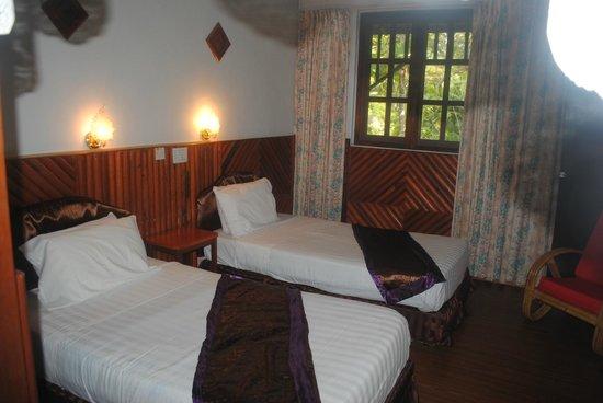 Sepilok Jungle Resort : Номер с 2 кроватями