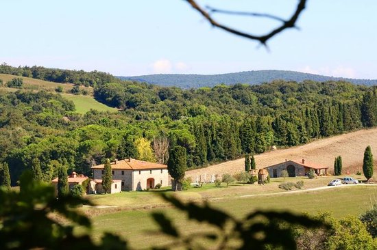 Villa Le Ginepraie : View on to property