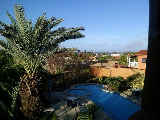 Posada Yemaya: Vista del balcon