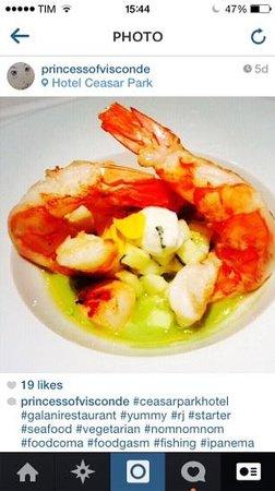 Galani Restaurant: shrimp
