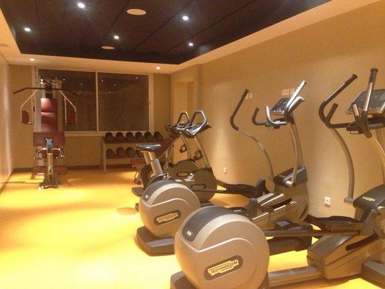 La sale de gym picture of radisson blu resort & thalasso hammamet