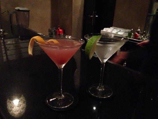 Palais Aziza & Spa: Fabulous cocktails at the hotel bar