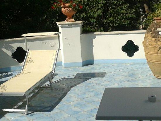 Hotel La Floridiana: terraza de la habitacion